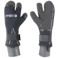 Перчатки Northern Diver 7mm Kevlar Mitts Gloves 3х-палые